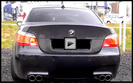 BMW M5 F1 BURNING RUBBER hot cars