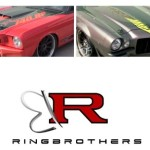 Two Muscle Cars by The Ring Brothers