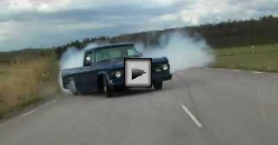 dodge 440 burnout