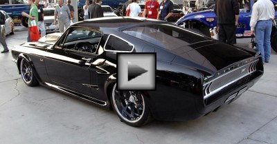 mustang coupe muscle car