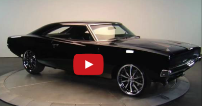 pro touring charger muscle car
