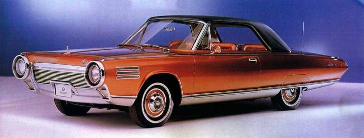 1963 chrysler turbine concept car