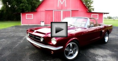 1965 mustang muscle cars