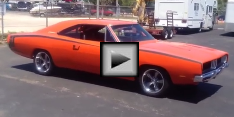 1969 Charger R T mopar muscle car