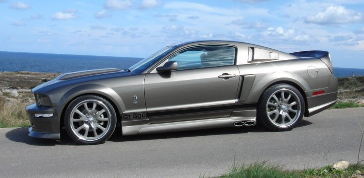 2006 ford mustang shelby gt-h eleanor