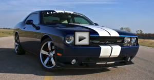 650 HP Supercharged Challenger 392 mopar muscle car