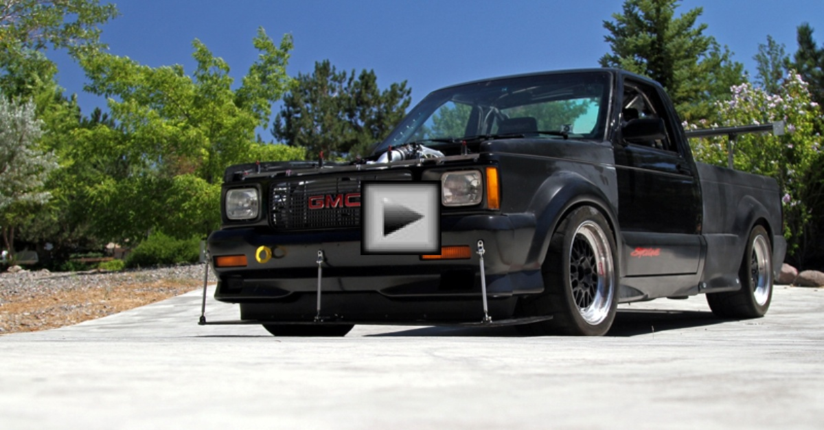 GMC-Scyclone american tuned car