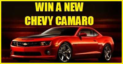 WIN A NEW CHEVY CAMARO
