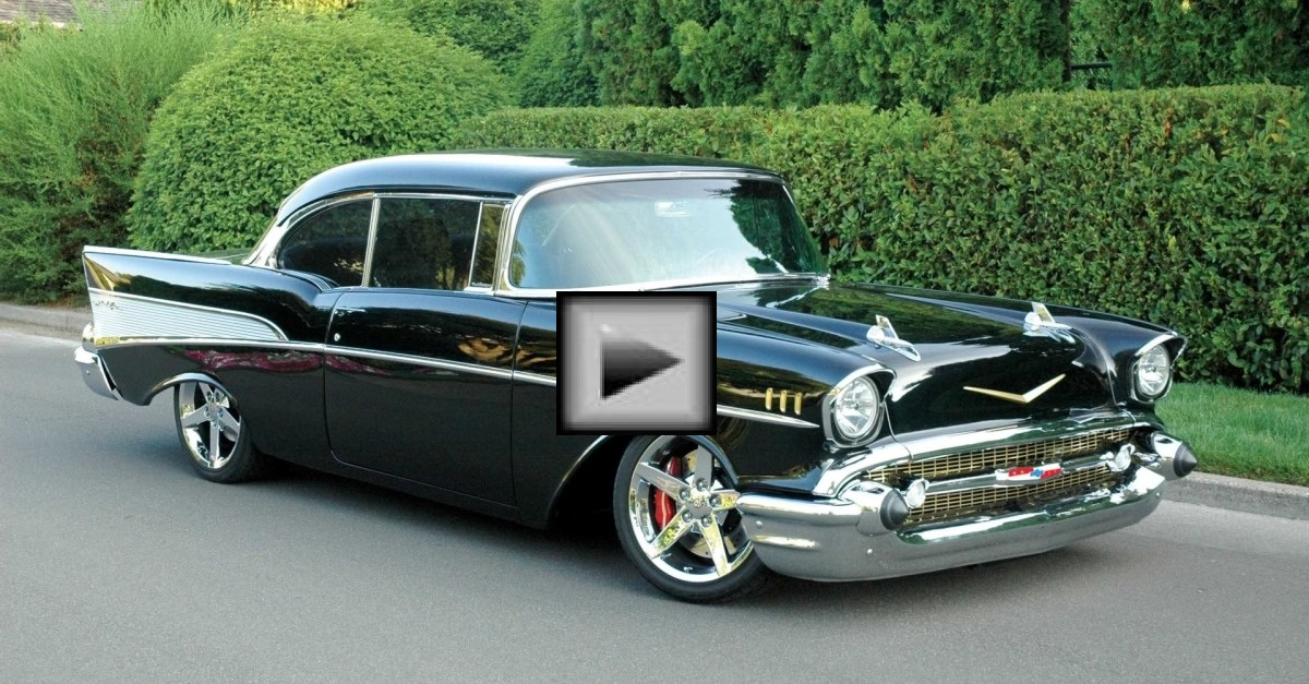 chevy bel air muscle car