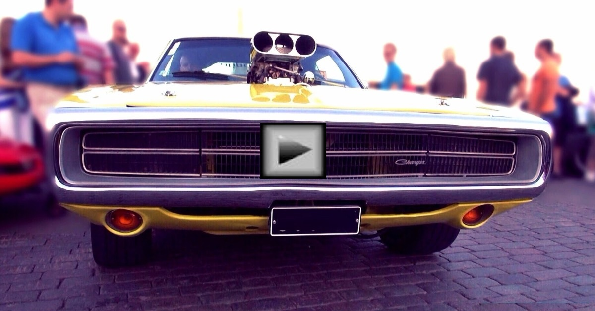 dodge charger 500 mopar muscle car