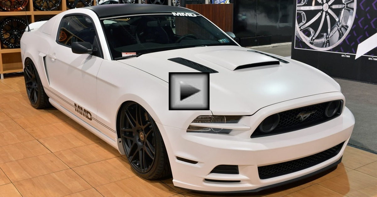 ford mustang gt vortech american muscle car