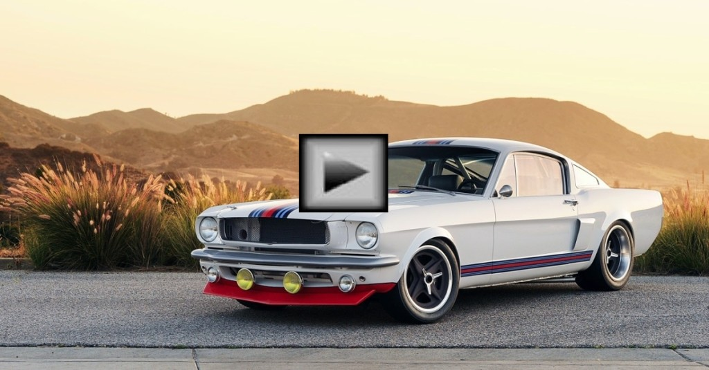 The Martini Mustang By Pure Vision