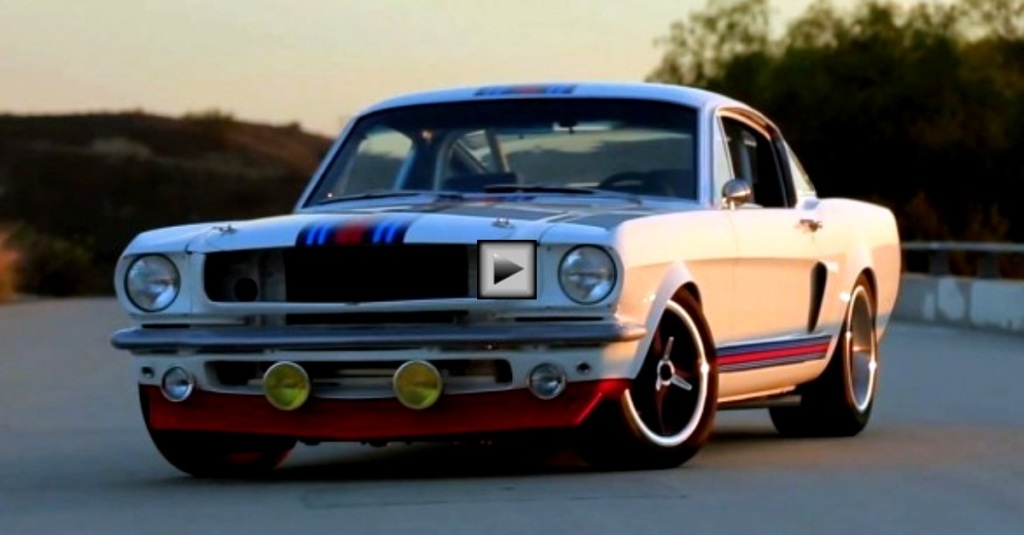 The Martini Mustang By Pure Vision Hot Cars