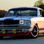 mustang fastback martini by pure vision