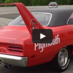plymouth superbird muscle car