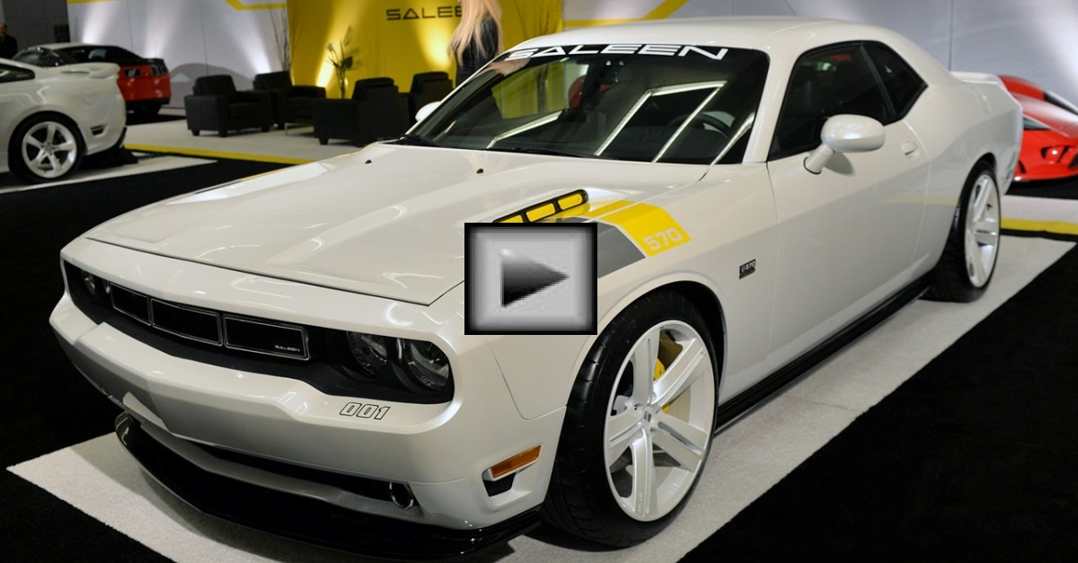 saleen dodge challenger mopar muscle car