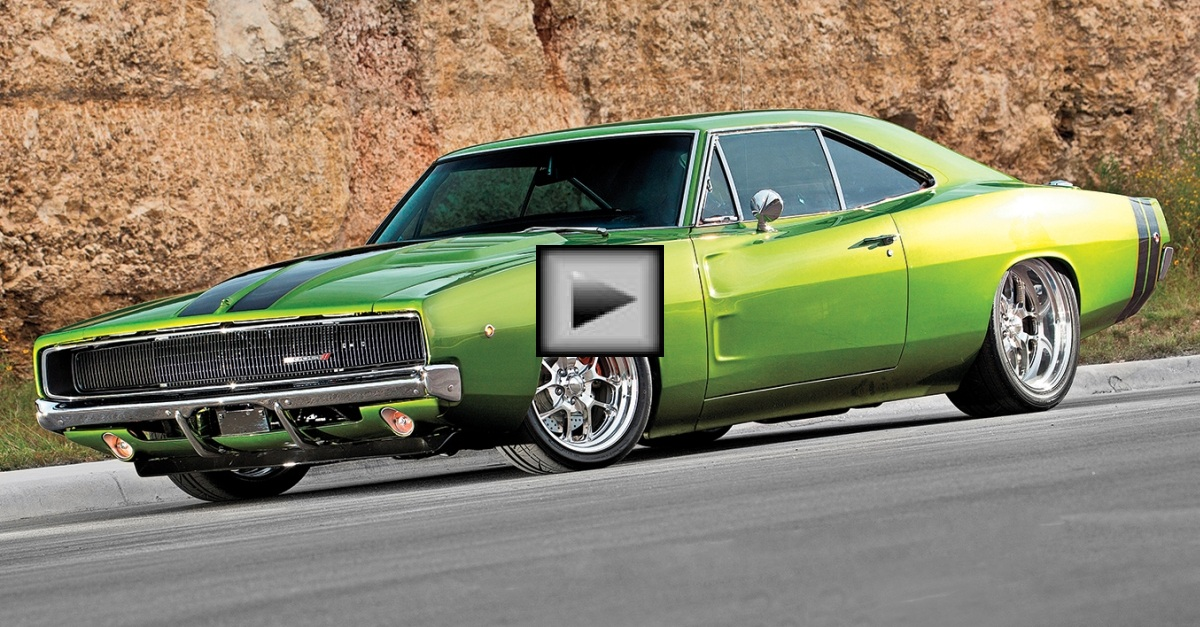 slam dodge charger mopar muscle car