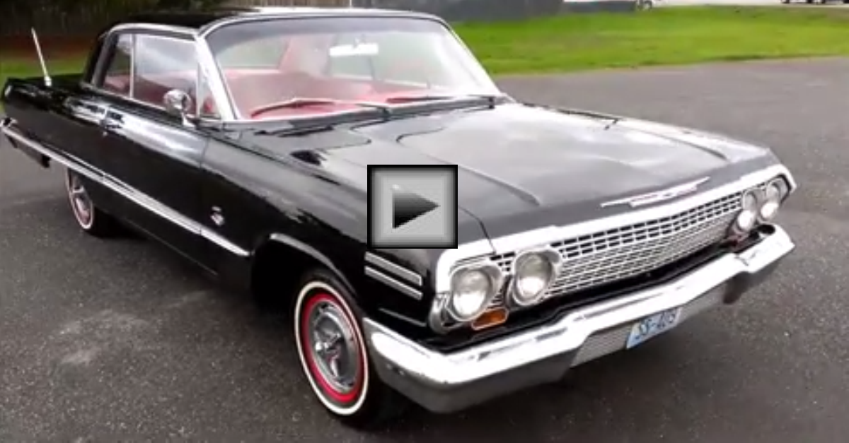1963 Chevrolet Impala SS american muscle car