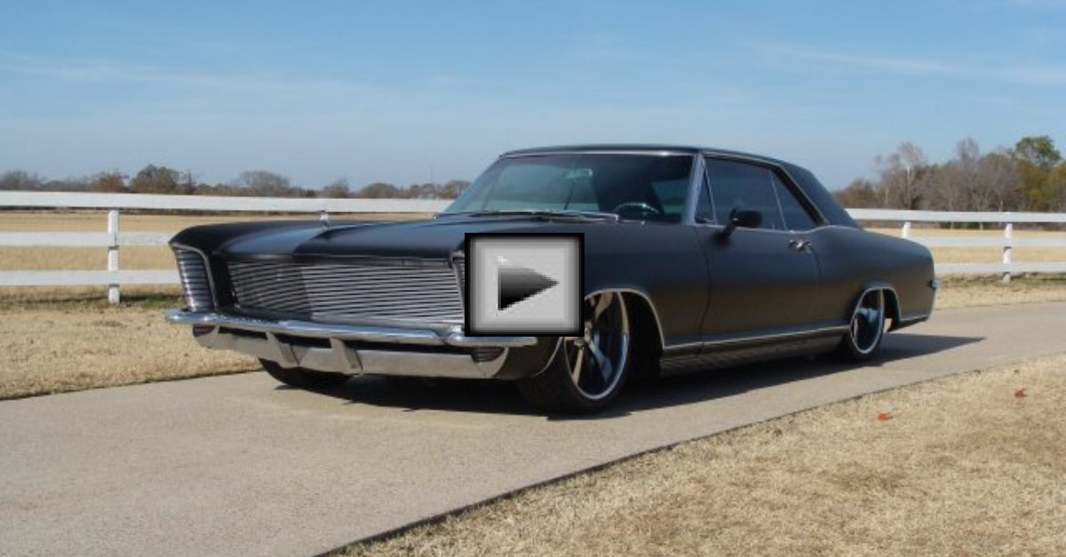 1965-buick-riviera american muscle car | HOT CARS