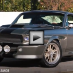 1967 Shelby Mustang GT 500 Eleanor american muscle car