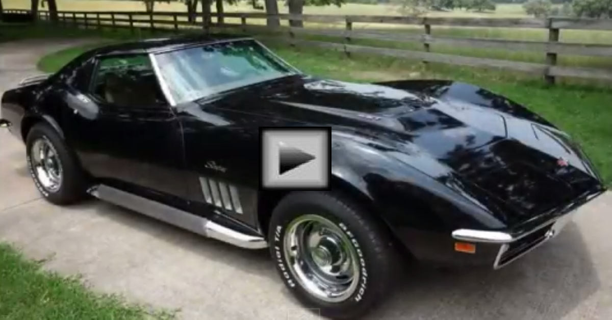 1969 Corvette 427 Tri Power american car