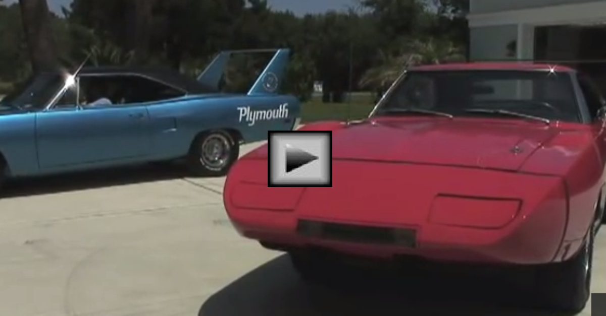 1969 Daytona and 1970 Roadrunner mopar muscle cars