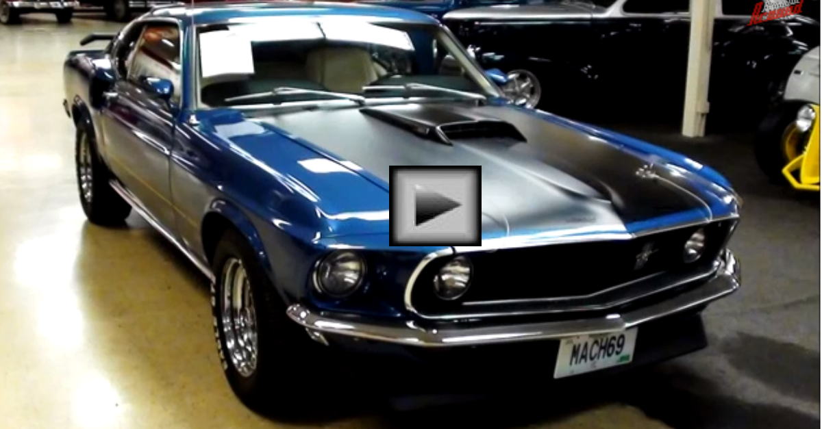 1969 Ford Mustang Mach 1 351W Fastback american Muscle Car