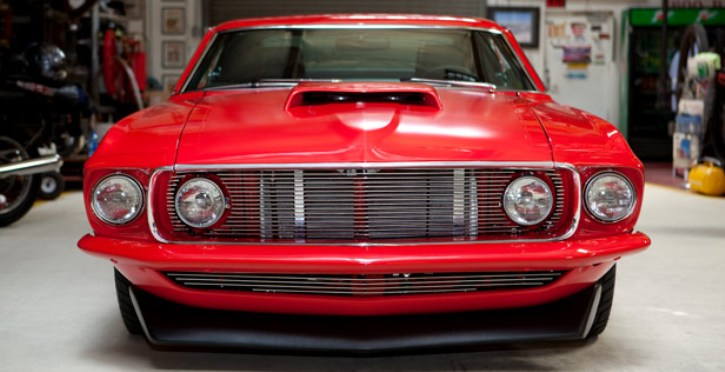 1969 ford mustang fastback custom by bodie stroud