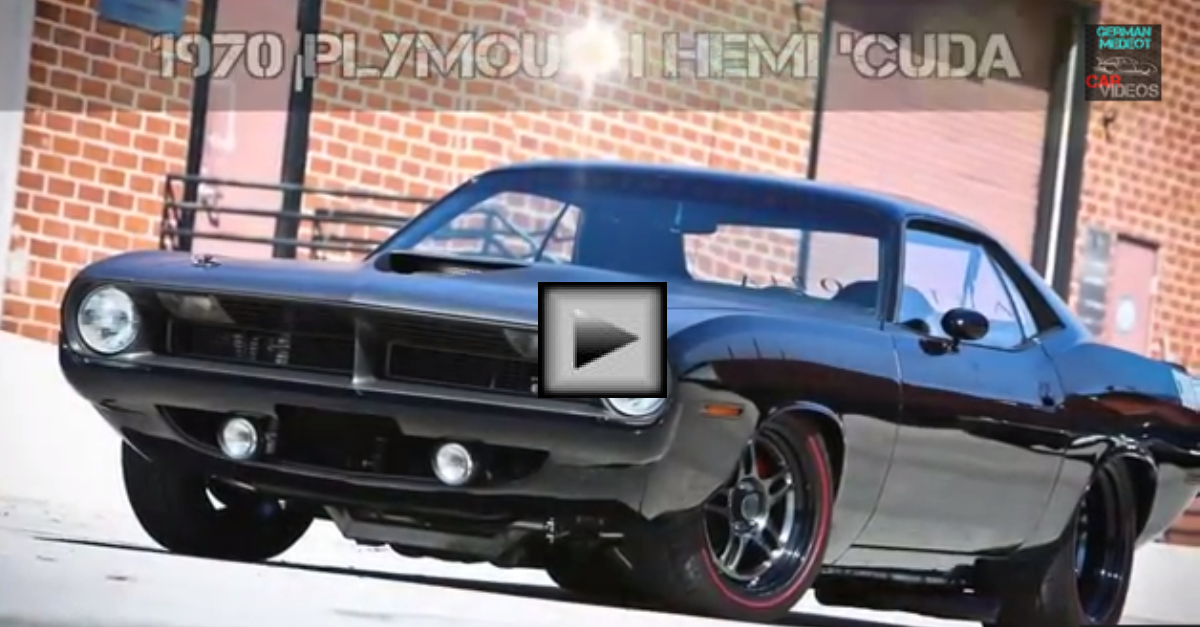 1970 Plymouth Hemi Cuda mopar muscle car