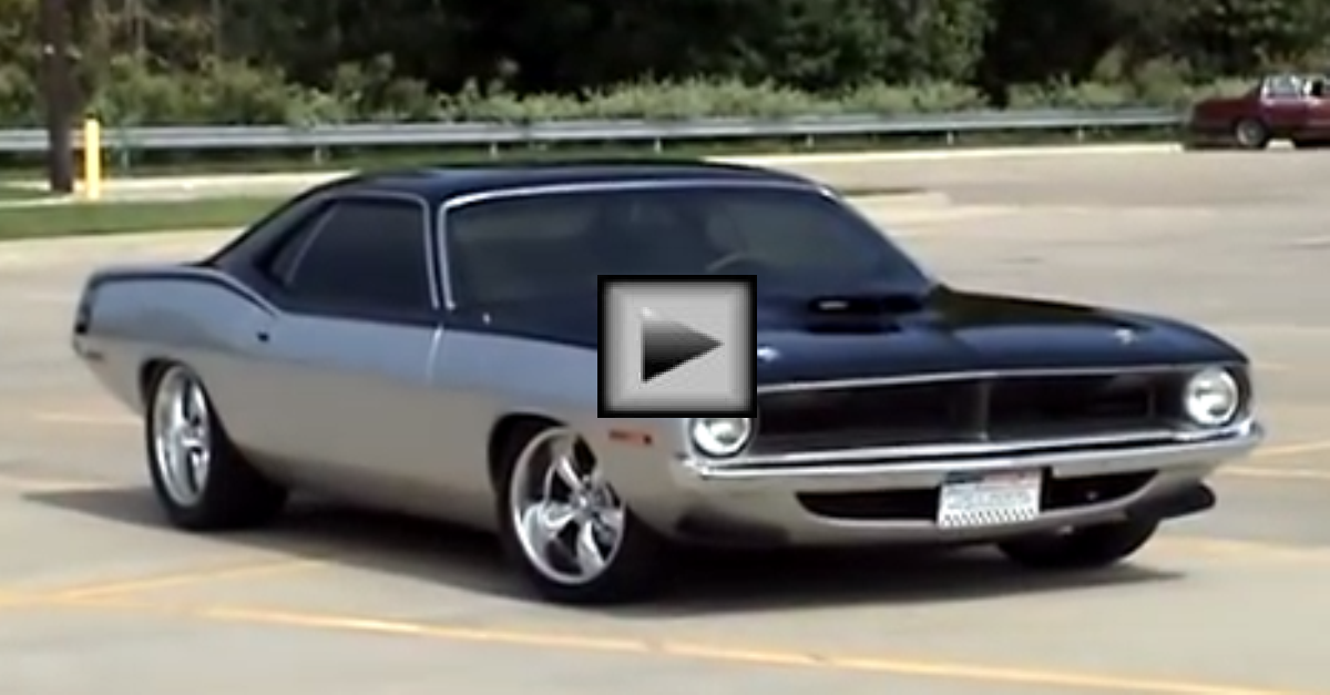 1970 Pro Touring Cuda mopar muscle car