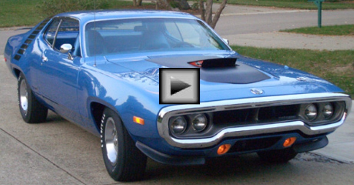 1972 Plymouth Road Runner Autorama winner mopar muscle car 1