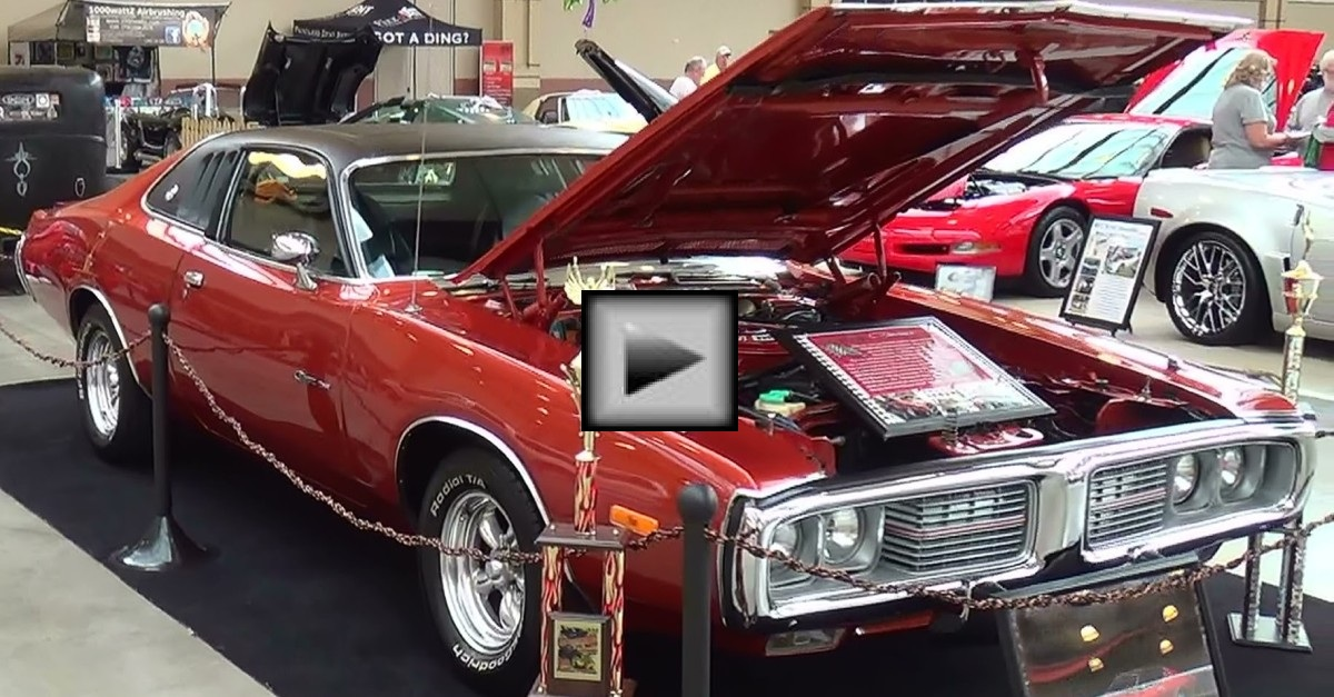 1974 dodge charger mopar muscle car