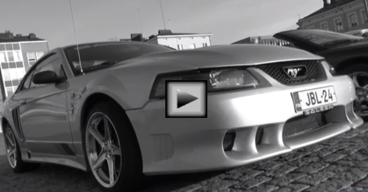 2001 Saleen Mustang Supercharged american muscle car