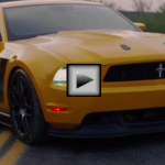 2012 ford mustang boss 302 ameican muscle car