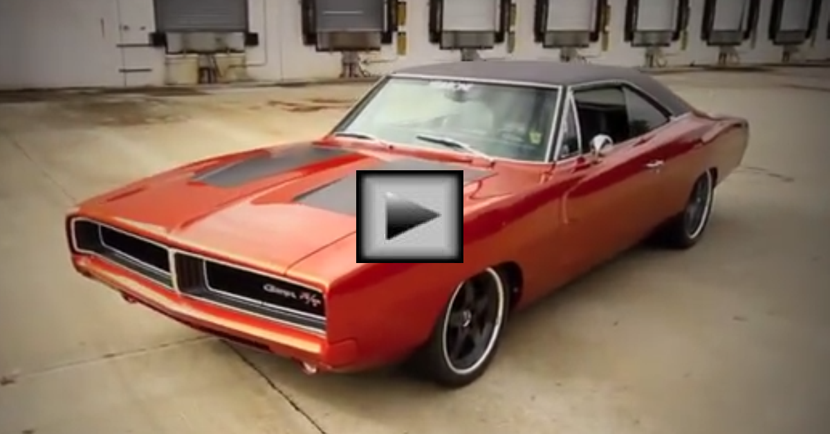 Big Time 69 dodge Charger mopar muscle car