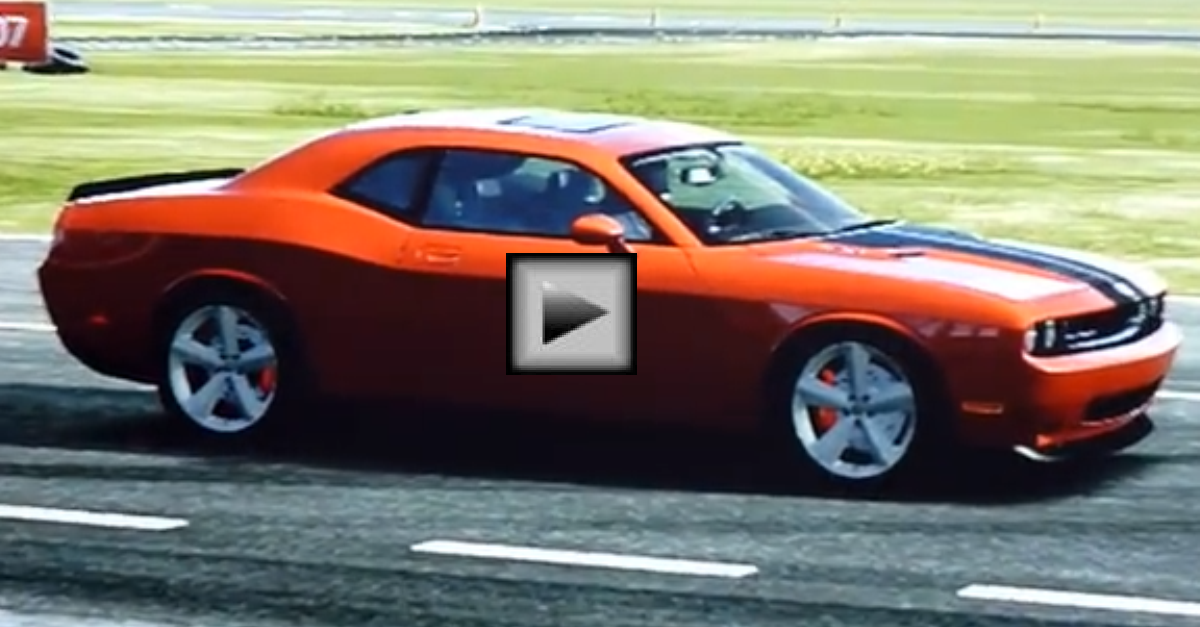 Dodge Challenger SRT8 mopar muscle car