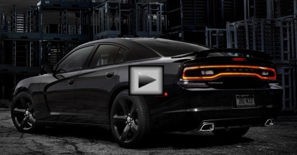 Dodge Charger mopar muscle car exhaust