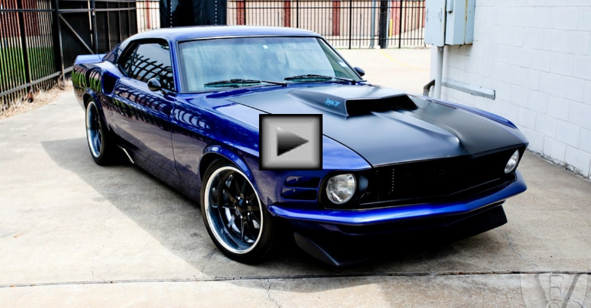 EVS Motors Synful 1970 Ford Mustang