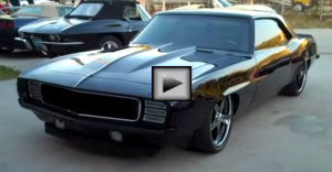 LS3 69 Camaro Pro Touring Rest Mod american muscle car
