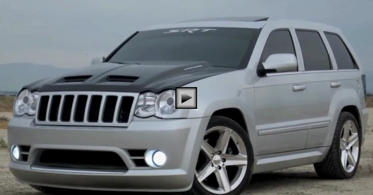 Sickest 1000hp JEEP SRT8 in the WORLD