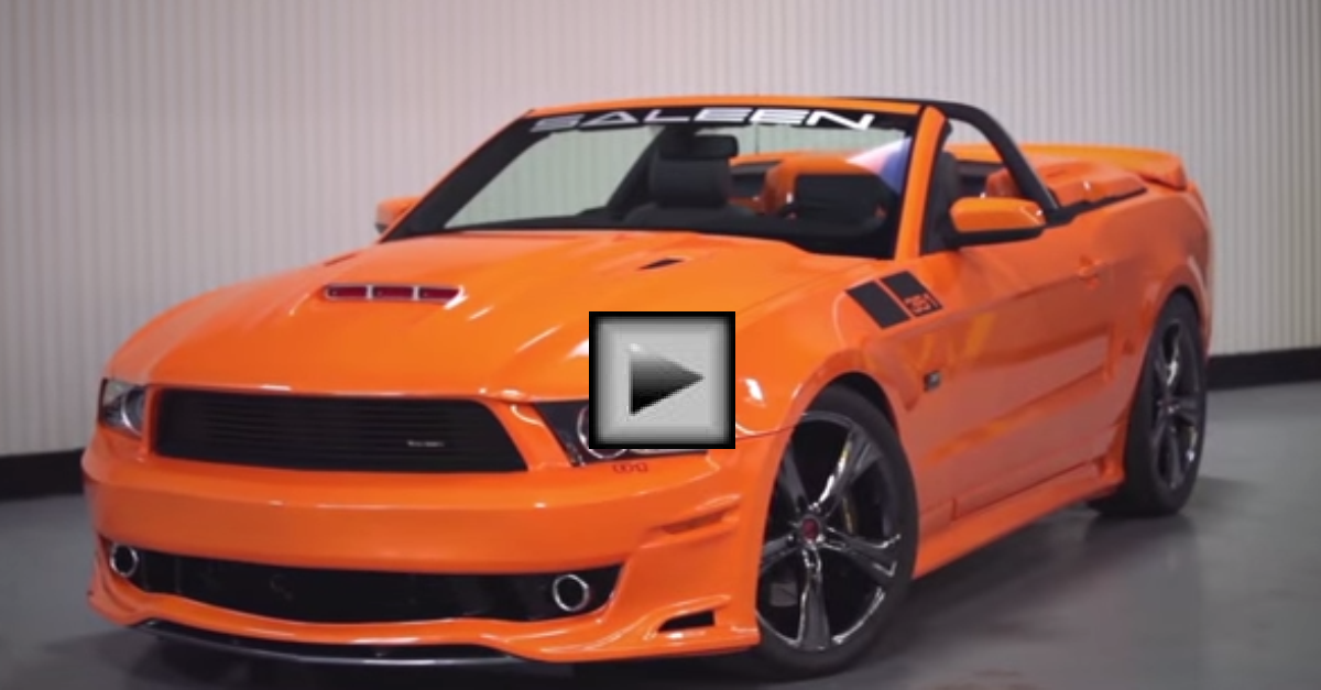 Steve Saleen on the New Saleen 2013 351 V8 Supercharged Mustang muscle car