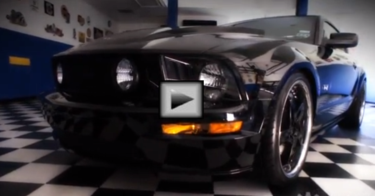 THE ASSASSIN 600HP 2008 MUSTANG GT Supercharged american muscle car