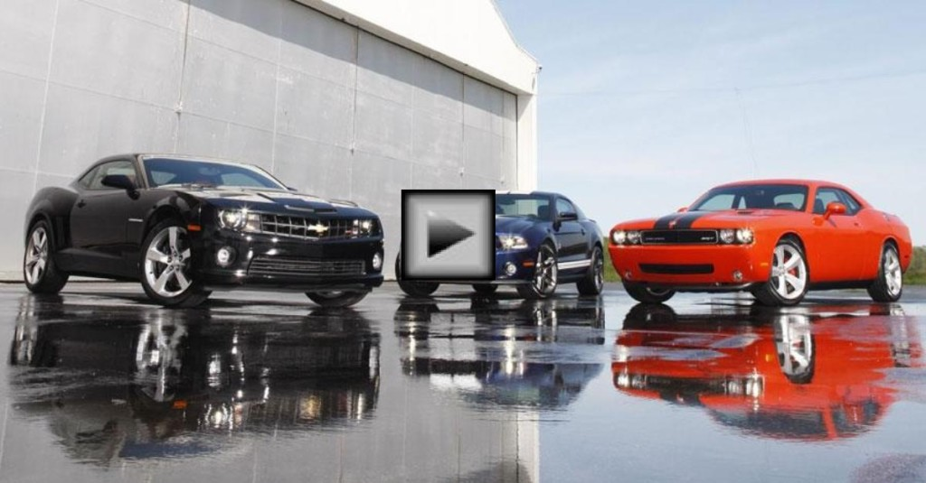 Mustang Boss 302 Vs Camaro Zl585 Vs Challenger Srt8 392