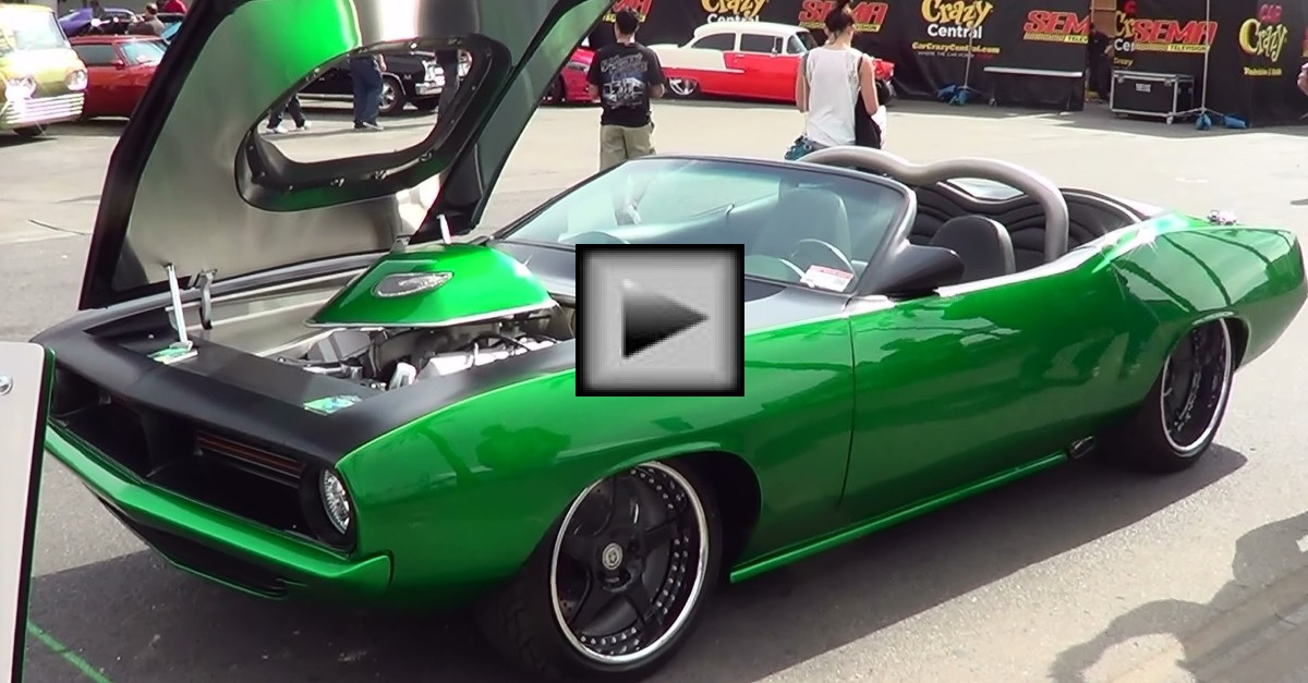 plymouth cuda mopar muscle car