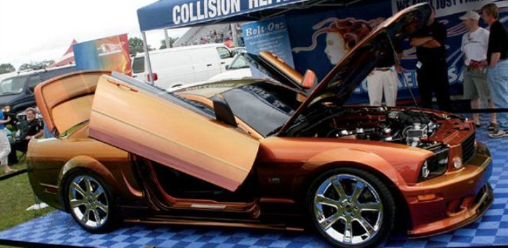 supercharged ford mustang gt maaco medusa custom built