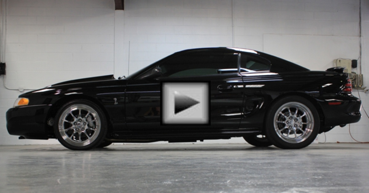 Twin Turbo Ford Mustang American Muscle Car