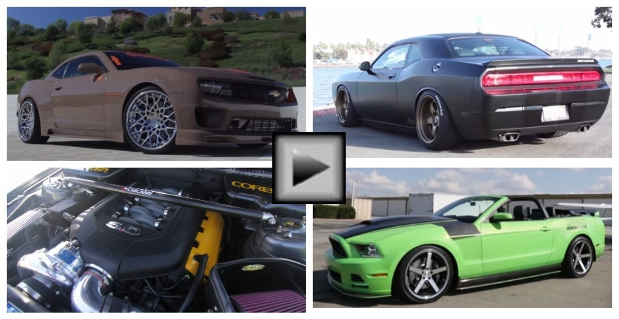 supercharger american muscle cars