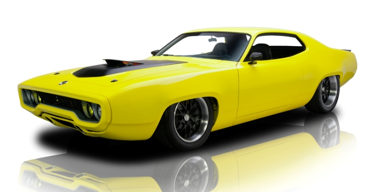 custom built 1972 plymouth hemi satellite