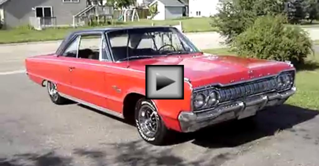 SWEET 1965 DODGE MONACO - MOPAR MUSCLE CAR | HOT CARS