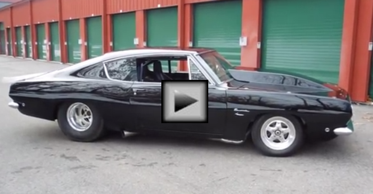1968 Pro Street Plymouth Barracuda mopar muscle car | HOT CARS